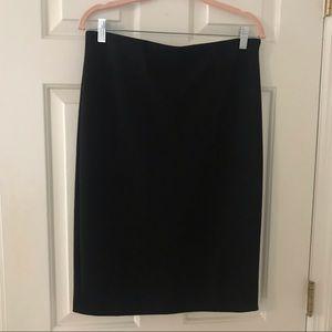 Philosophy Never Worn Black Pencil Skirt